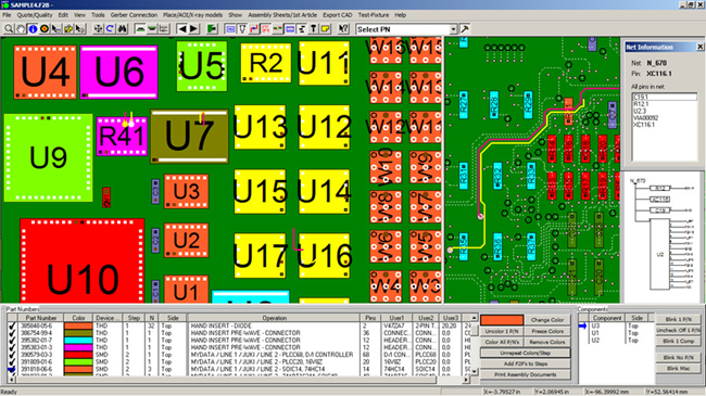 gerber view ecad view cad view - software electronic manufacturing ...